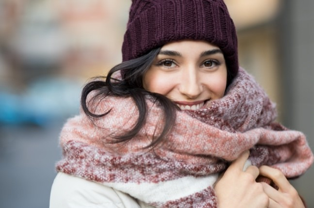 How To Keep Your Head Warm & Your Hair Healthy In Winter Weather
